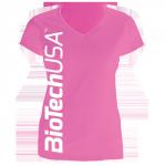 BioTechUSA női póló, Pink