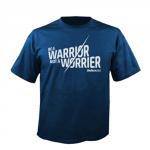 Warrior királykék férfi póló