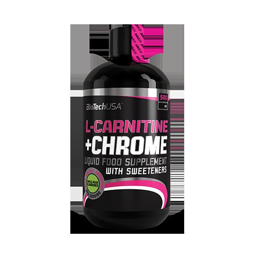 L-Carnitine + Chrome - 500 ml